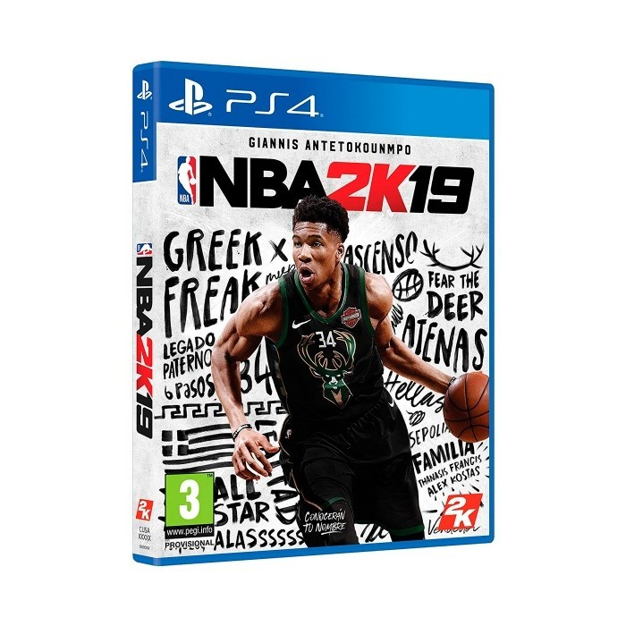 JUEGO PLAYSTATION 4 NBA2K19