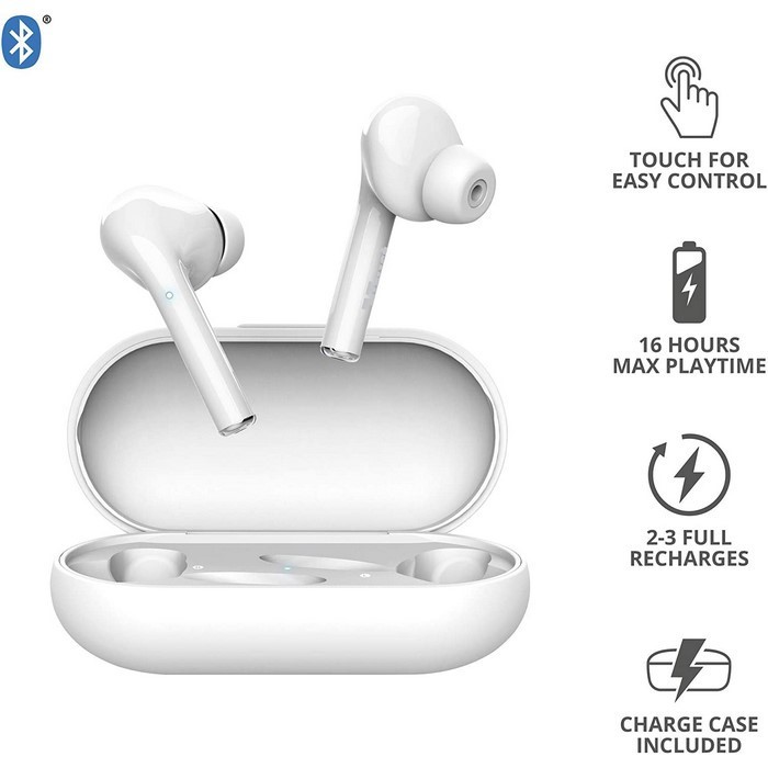 AURICULARES NIKA TOUCH BLANCO (TRUST)